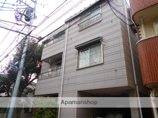 東京都杉並区、高円寺駅徒歩2分の築25年 3階建の賃貸マンション
