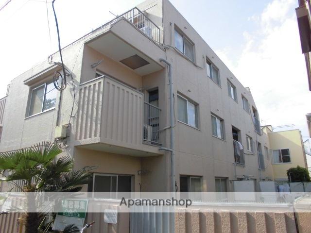 東京都中野区、高円寺駅徒歩8分の築34年 3階建の賃貸マンション