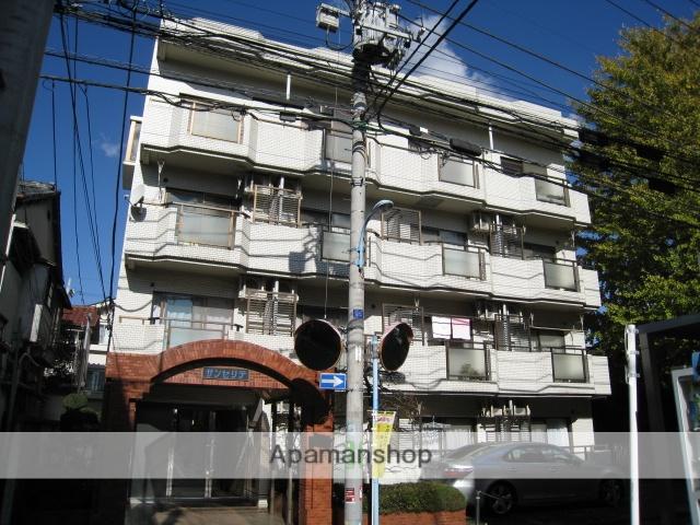 東京都杉並区、高円寺駅徒歩5分の築27年 4階建の賃貸マンション