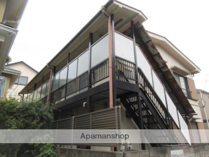 東京都中野区、高円寺駅徒歩8分の築39年 2階建の賃貸アパート