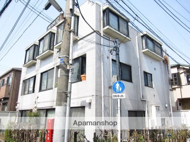 東京都杉並区、高円寺駅徒歩11分の築26年 3階建の賃貸マンション