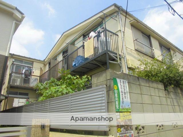 東京都杉並区、高円寺駅徒歩5分の築40年 2階建の賃貸アパート