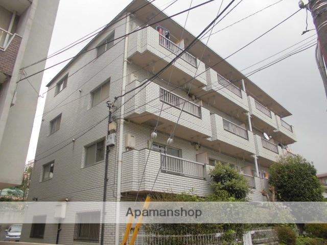 東京都杉並区、高円寺駅徒歩3分の築32年 4階建の賃貸マンション