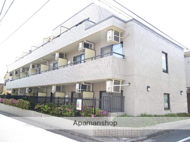 東京都杉並区、新中野駅徒歩12分の築25年 4階建の賃貸マンション