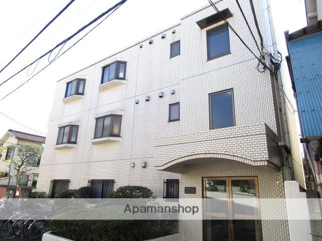東京都杉並区、高円寺駅徒歩8分の築23年 3階建の賃貸マンション