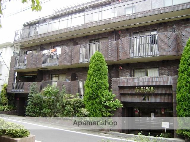 東京都杉並区、新中野駅徒歩15分の築25年 4階建の賃貸マンション