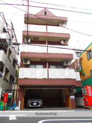 東京都杉並区、新中野駅徒歩14分の築24年 4階建の賃貸マンション