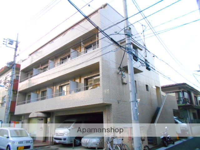 東京都杉並区、高円寺駅徒歩9分の築30年 4階建の賃貸マンション