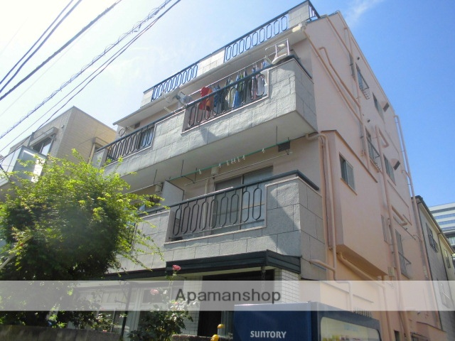 東京都中野区、高円寺駅徒歩14分の築38年 4階建の賃貸マンション