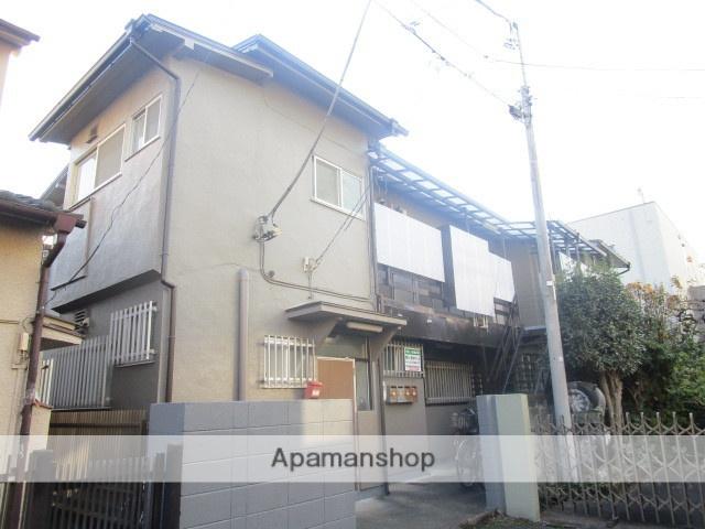東京都杉並区、永福町駅徒歩17分の築46年 2階建の賃貸アパート
