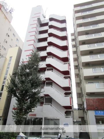 東京都中野区、新中野駅徒歩5分の築26年 9階建の賃貸マンション