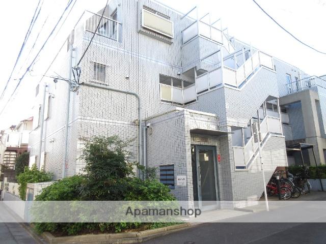 東京都中野区、新中野駅徒歩4分の築20年 3階建の賃貸マンション