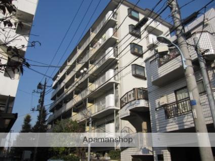 東京都杉並区、高円寺駅徒歩12分の築35年 7階建の賃貸マンション