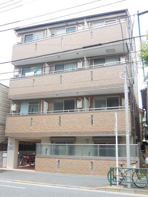 東京都中野区、中野駅徒歩25分の築4年 4階建の賃貸マンション