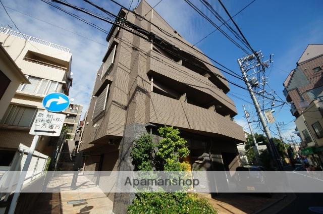 東京都目黒区、神泉駅徒歩13分の築17年 5階建の賃貸マンション