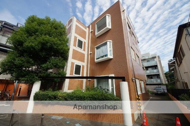 東京都目黒区、神泉駅徒歩12分の築22年 3階建の賃貸マンション