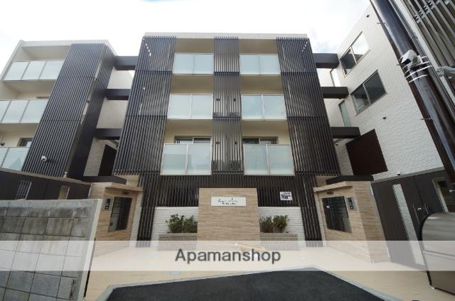 東京都渋谷区、代々木八幡駅徒歩5分の築1年 4階建の賃貸マンション