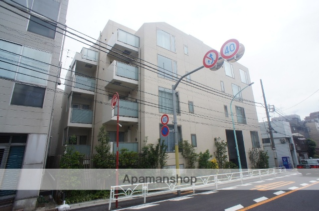 東京都渋谷区、初台駅徒歩7分の新築 5階建の賃貸マンション