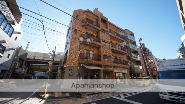 東京都渋谷区、代々木八幡駅徒歩6分の築22年 5階建の賃貸マンション