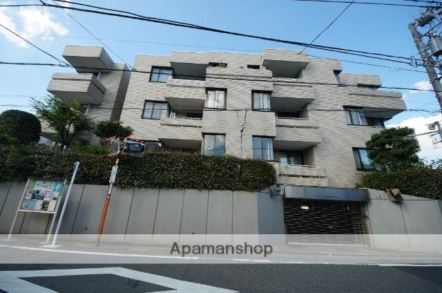 東京都渋谷区、代々木上原駅徒歩6分の築32年 5階建の賃貸マンション