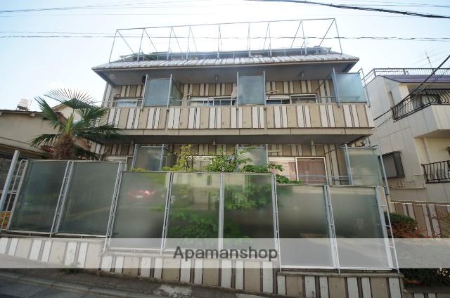 東京都渋谷区、代々木駅徒歩12分の築39年 4階建の賃貸マンション