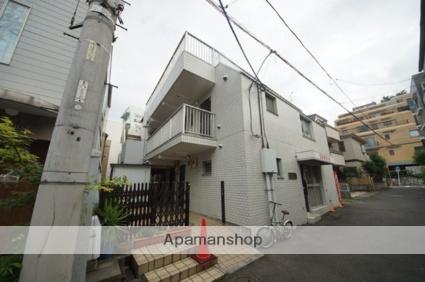 東京都新宿区、信濃町駅徒歩6分の築32年 3階建の賃貸マンション