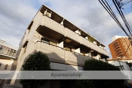 東京都新宿区、若松河田駅徒歩4分の築25年 3階建の賃貸マンション