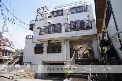 東京都新宿区、若松河田駅徒歩10分の築38年 3階建の賃貸マンション
