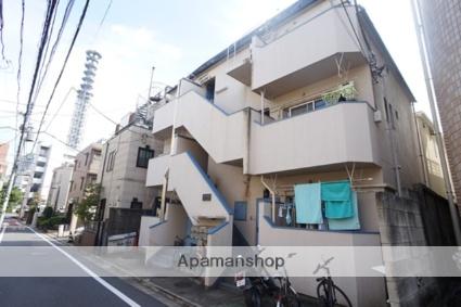 東京都新宿区、若松河田駅徒歩10分の築30年 4階建の賃貸マンション