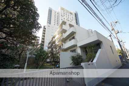 東京都新宿区、西武新宿駅徒歩12分の築41年 4階建の賃貸マンション