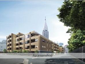 東京都渋谷区、代々木駅徒歩4分の築2年 5階建の賃貸マンション