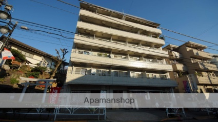 東京都渋谷区、原宿駅徒歩10分の築37年 6階建の賃貸マンション
