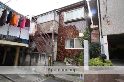 東京都新宿区、新宿御苑前駅徒歩8分の築35年 2階建の賃貸アパート