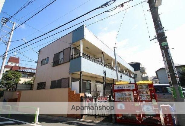東京都練馬区、江古田駅徒歩12分の築32年 2階建の賃貸アパート