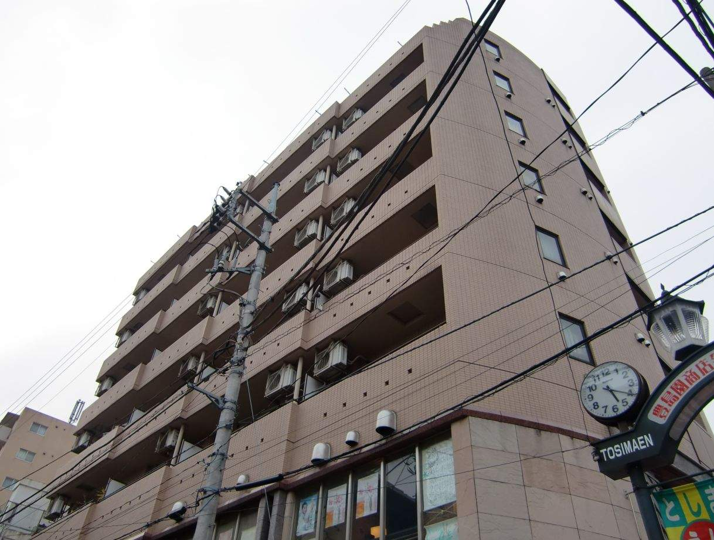 東京都練馬区、練馬駅徒歩14分の築23年 8階建の賃貸マンション
