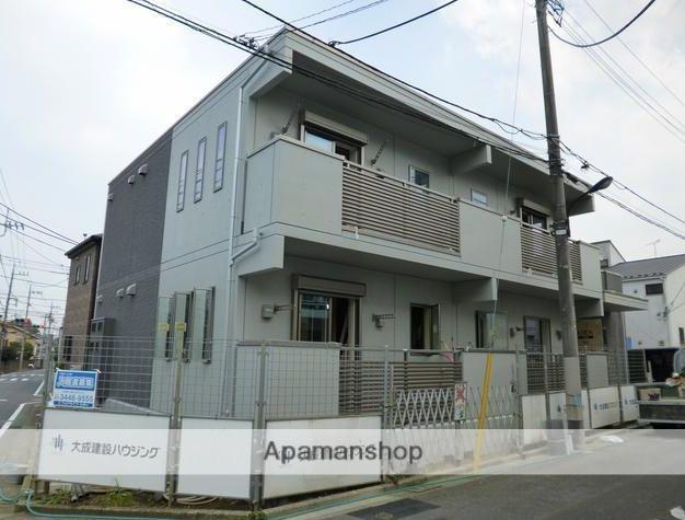 東京都練馬区、練馬春日町駅徒歩13分の築2年 2階建の賃貸マンション