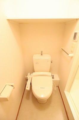 レオパレスパルティータ[1K/19.87m2]のトイレ
