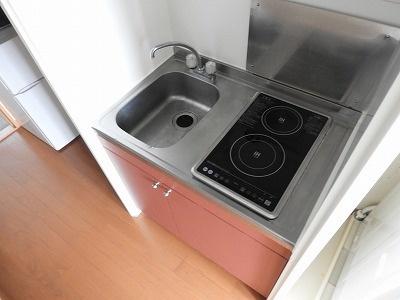レオパレスCOURAGE[1K/19.87m2]のキッチン