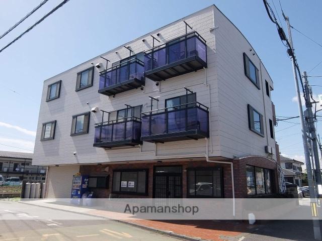 東京都昭島市、東中神駅徒歩21分の築25年 3階建の賃貸マンション