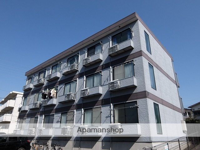 東京都福生市、牛浜駅徒歩25分の築20年 3階建の賃貸マンション