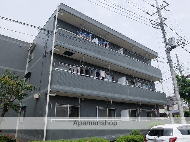 東京都立川市、昭島駅徒歩26分の築25年 3階建の賃貸マンション