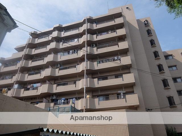 東京都昭島市、西立川駅徒歩20分の築27年 8階建の賃貸マンション