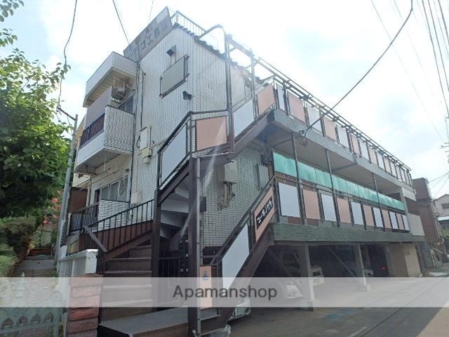 東京都北区、赤羽駅徒歩8分の築30年 3階建の賃貸マンション
