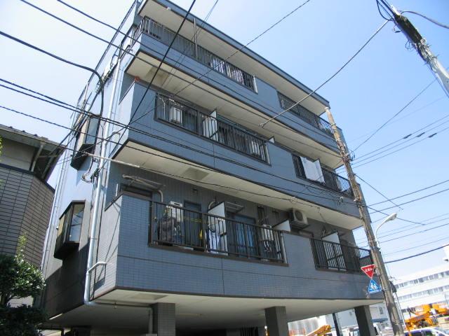 東京都板橋区、浮間舟渡駅徒歩7分の築23年 4階建の賃貸アパート