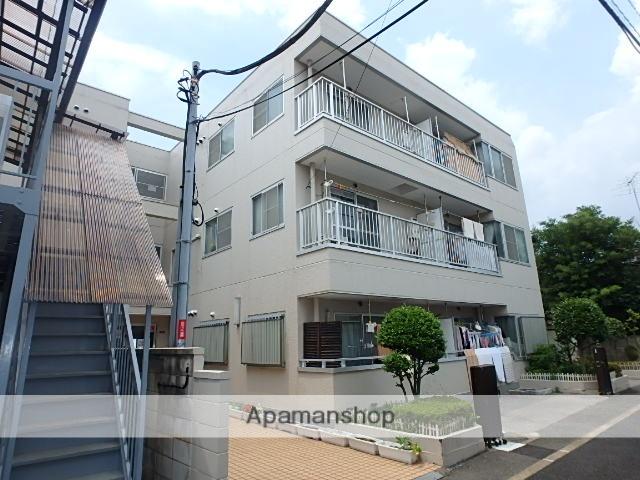 東京都北区、赤羽駅徒歩13分の築28年 3階建の賃貸マンション