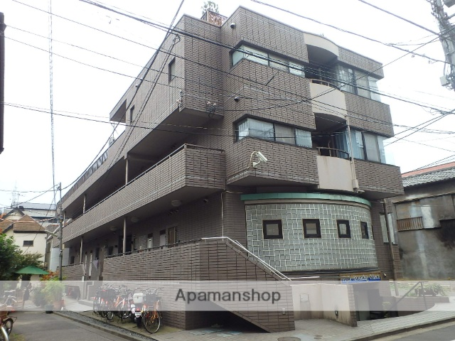 東京都北区、赤羽駅徒歩8分の築25年 3階建の賃貸マンション