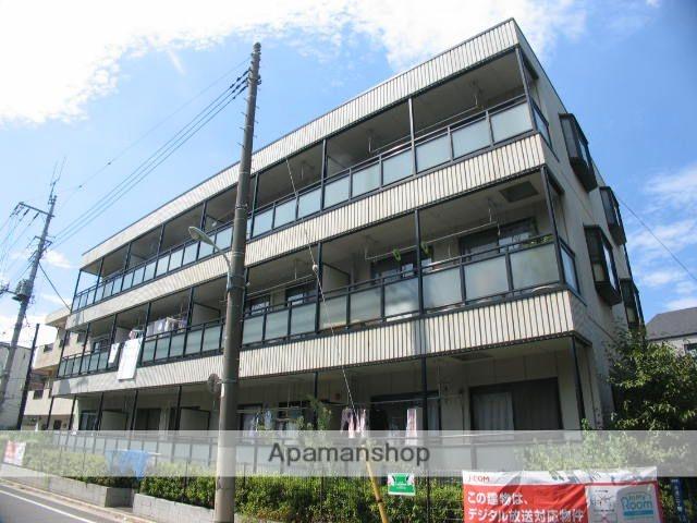 東京都板橋区、北赤羽駅徒歩23分の築22年 3階建の賃貸マンション