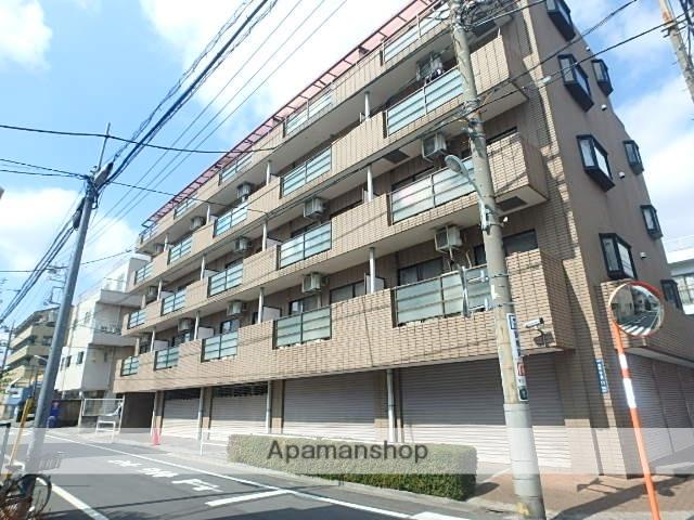 東京都板橋区、北赤羽駅徒歩22分の築26年 5階建の賃貸マンション
