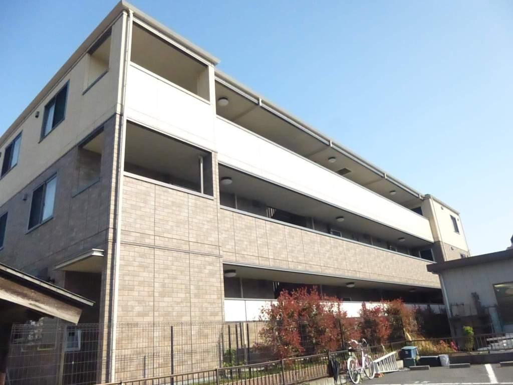 東京都北区、北赤羽駅徒歩14分の築9年 3階建の賃貸マンション