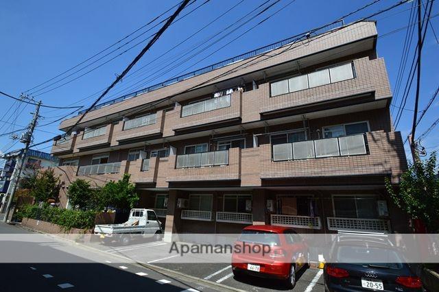 東京都北区、十条駅徒歩7分の築26年 3階建の賃貸マンション
